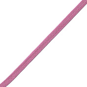 Venus Ribbon B047850-TROPIC 0.5cm Rayon Middy Braid, 12-Yard, Tropical Pink