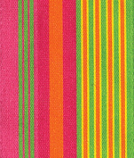 Entertaining with Caspari Pink and Green Multi Stripe Wired Ribbon, 8-Yard
