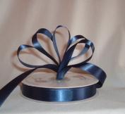 Ribbon - Satin Ribbon- 1.6cm Single Face 50 Yards (150 FT) - Navy Blue - Sewing - Craft - Wedding Favours