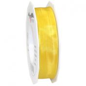Morex Ribbon French Wired Lyon Ribbon, 2.5cm by 27-Yard Spool, Yellow