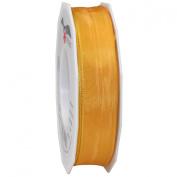 Morex Ribbon French Wired Lyon Ribbon, 2.5cm by 27-Yard Spool, Canary Yellow