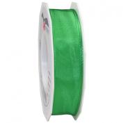 Morex Ribbon French Wired Lyon Ribbon, 2.5cm by 27-Yard Spool, Green
