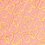 Offray Love Foiled Craft Ribbon