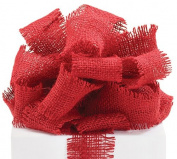 #40 Red Burlap Ribbon