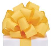 #9 Yellow Taffeta Wired Ribbon