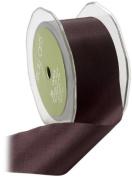 May Arts 3.8cm Wide Ribbon, Plum Taffeta