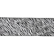 Vickerman 78030cm - 10cm x 10yd Zebra Velvet Ribbon