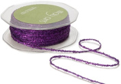 May Arts Ribbon, Violet Metallic String