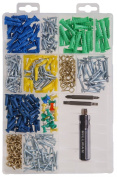 The Hillman Group 591535 Large Wall Hanger Assortment, 400-Pack