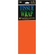 Tissue Wrap 50cm x 50cm 10/Pkg-Orange