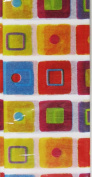Colourful Squares Modern Tissue Paper- 5 Sheets