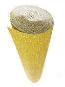 Italian Crepe Paper roll 180 gramme - 801 Metallised GOLD