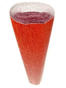Italian Crepe Paper Roll 180 Gramme - 803 Metallised RED