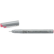 Zig 0.3mm Memory System Tip Millennium Marker, Pure Pink