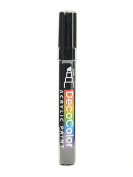 Marvy Uchida Decocolor Acrylic Paint Markers black [PACK OF 6 ]