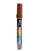 Marvy Uchida Decocolor Acrylic Paint Markers brown [PACK OF 6 ]