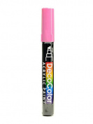 Marvy Uchida Decocolor Acrylic Paint Markers bubblegum [PACK OF 6 ]