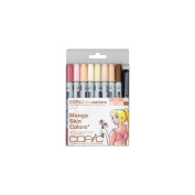 Copic Markers 9-Piece Ciao Manga Set, Skin