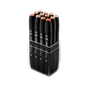 ShinHan Touch Twin Marker Set 12 Skin Tones A