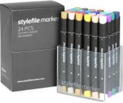 Stylefile Grafikmarker 24er Set B