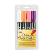 Wholesale CASE of 15 - Uchida Bistro Erasable Chalk Markers-Bistro Chalk Marker, Erasable, Fluorescent WE, OE, VT, PK