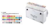 ShinHan Touch Twin Brush Marker Set 60A