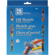 Loew-Cornell Oil Pastels, 36-Count