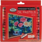 Royal & Langnickel Essentials Oil Pastels, Small, 24 Colour Set