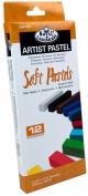 Royal & Langnickel Assorted Soft Pastels, 12-Piece