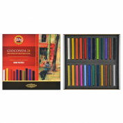 Koh-i-noor Gioconda - 24 Square Hard Pastels. 8114