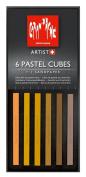 Caran D'ache Pastel Cube Set/6 Sand