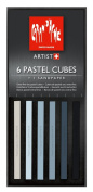 Caran D'ache Pastel Cube Set/6 Shadow