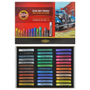 Koh-i-noor Toison D'or - 36 Round Extra Soft Pastels. 8555