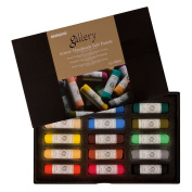Mungyo Gallery Handmade Soft Pastel Set of 15 - Assorted Colours