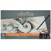 27 Pc Savoir-Faire Teacher's Choice Advanced Drawing Set