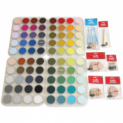 Colorfin PPSTL80 PanPastel Ultra Soft Artist Pastel Set, 80-Pack