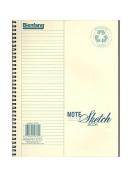 Bienfang Note Sketch Book vertical format 28cm . x 22cm . [PACK OF 2 ]