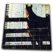 Cassie Peters Horses - Horse and Peeling Barn Paint Digital Art by Angelandspot - Drawing Book