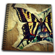 Cassie Peters Mixed Media - Mixed Media Butterfly by Angelandspot - Drawing Book