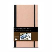 Cottonwood Canvas Notebook 6.75X12
