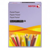 Multipurpose Pastel Coloured Paper, 20-lb, Letter, Lilac, 500 Sheets/Re
