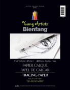 Young Artists Bienfang Tracing Paper 23cm x 30cm 40 Sheets-24lb