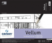 Canson Vidalon Tracing Vellum 36cm . x 43cm . pad of 50 sheets