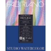 Fabriano Studio Watercolour Pad 11X14 12/Sheet