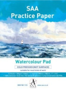 SAA Practise Paper Pad 1/8 Imperial, NOT, 12 Sheets