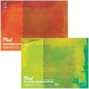 Fluid Watercolour Hot Press Block 6X8