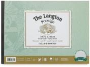 """Daler-Rowney The Langton Prestige Cold Press (""""Not"""") Watercolour Pad 36cm x 25cm"""