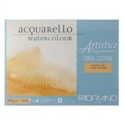 Fabriano Artistico 140 lb. Cold Press 20 Sheet Block 23cm x 30cm - Traditional White