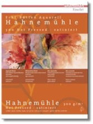 Hahnemuhle 300gsm Rough Watercolour Board block, 10 sheets, 36x48cm