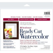 3 Pack 20cm x 25cm Hot Press Ready Cut Watercolour Sheet Pack (Product Catalogue
